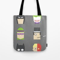 Batimalism Tote Bag