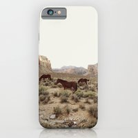 Hualapai Hilltop Horses iPhone 6 Slim Case