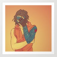 FACEPALM Art Print