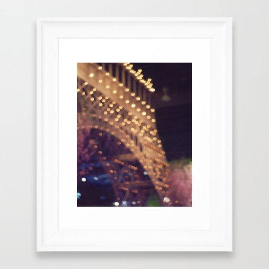 Paris (Delusion) Framed Art Print