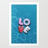 Only Love 9 Art Print