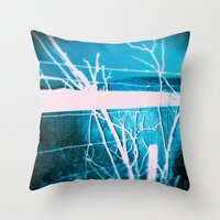 Alive at Night Throw Pillow