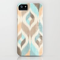 iPhone 5s & iPhone 5 Cases featuring Soothing Waves Ikat by petite stitches