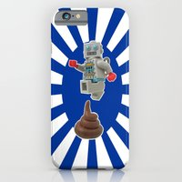 iPhone & iPod Case featuring Poo jumping by complesso gasparo