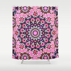 Fez Moroccan Tiles {4H} Shower Curtain
