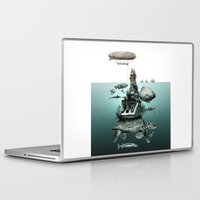 turtle Laptop & iPad Skins featuring turtle by Кaterina Кalinich