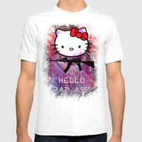 Hello My Friend Mens Fitted Tee White SMALL