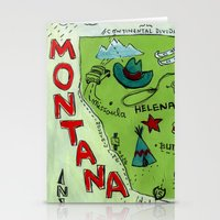 MONTANA Stationery Cards