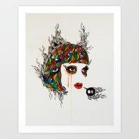 M#2 Art Print