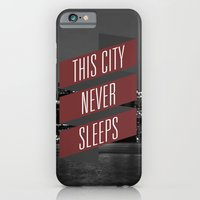 iPhone & iPod Case featuring This City Never Sleeps by Future