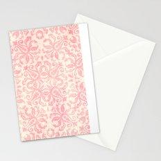 Shabby Arabesque Pattern Stationery Cards