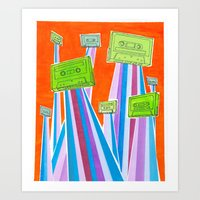 And Then One Day They Le… Art Print