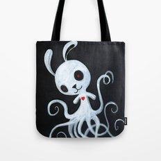 bunnnypus in the dark Tote Bag
