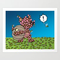 The Thing I Love Is The … Art Print