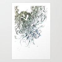 Sleeping Child Art Print