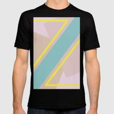 zesty Black Mens Fitted Tee SMALL