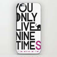 YOLNT. YOU ONLY LIVE NIN… iPhone & iPod Skin