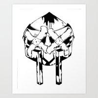 Bandit Doom Art Print
