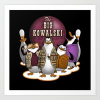 The Big Kowalski Art Print