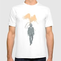 Out of the ashes arose a Phoenix Mens Fitted Tee White SMALL