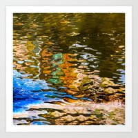 Reflection -abstract Art Print