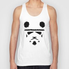 Panda Trooper Unisex Tank Top
