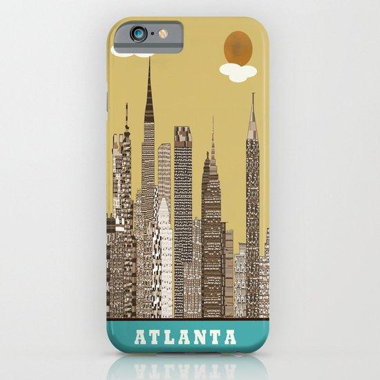 Atlanta city vintage iPhone & iPod Case
