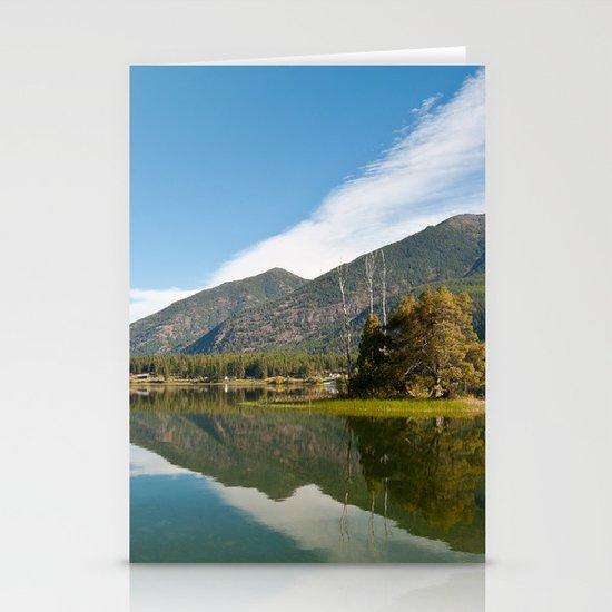 Peaceful Lake Stationery Card