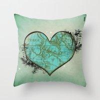 Heart #3 Throw Pillow