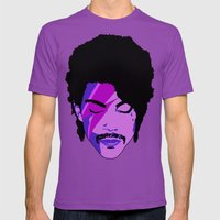 Princy Stardust Mens Fitted Tee Ultraviolet SMALL