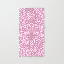 Hand & Bath Towel - Ab Lace Pink - Project M