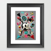 Remix Nr.2 Framed Art Print
