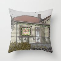 House 04 Throw Pillow
