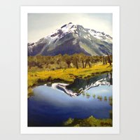 Alaskan Beauty Art Print