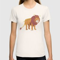 Bumblelion Womens Fitted Tee Natural SMALL