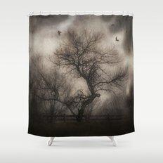 Svetlana's Tree Shower Curtain