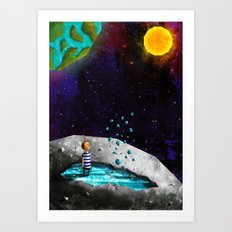 Sea of Tranquility Art Print