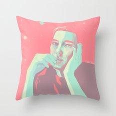 General Hux in Pink  Throw Pillow
