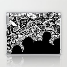 The Day the Saucers Came Laptop & iPad Skin