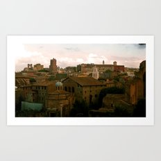 Good Morning Roma! Art Print