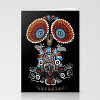 Mexican Owl Stationery Cards