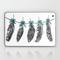 Feather Bunting 2 Laptop & iPad Skin