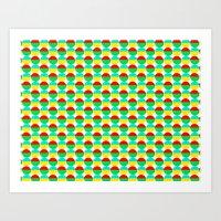 Van Abbe Pattern Art Print