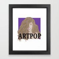 ArtPOP. Framed Art Print