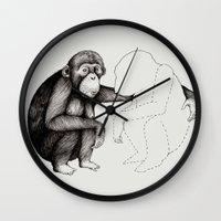 'Gone' Wall Clock