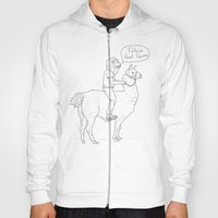 Follow that llama ! Hoody