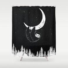 Goodnight Sloth Shower Curtain