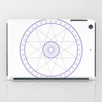 Anime Magic Circle 10 iPad Case