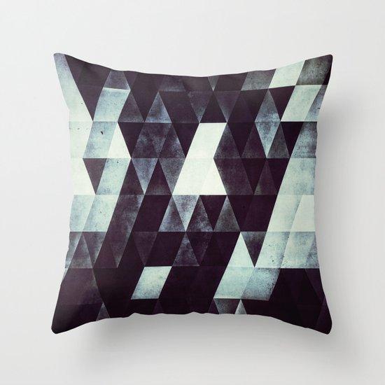 mnykryme Throw Pillow