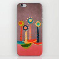 Colors And Flowers 3 iPhone & iPod Skin